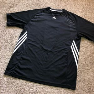 Men's adidas three stripe tee